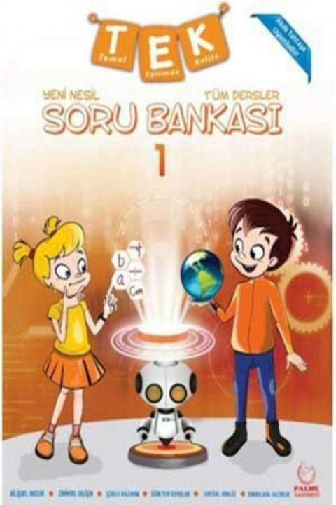 1. Sınıf Tüm Dersler Yeni Nesil Soru Bankası