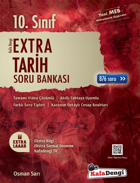 10. Sınıf Tarih Extra Soru Bankası Kafadengi Yayınları
