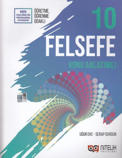 10.Sınıf Felsefe Konu Anlatımı Nitelik Yayınları