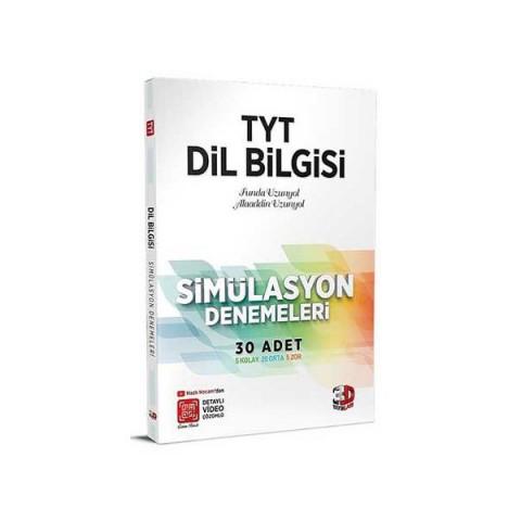 2021 TYT Dil Bilgisi Simülasyon Denemeleri Detaylı Video Çözümlü 3D Yayınları