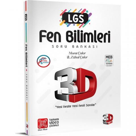 3D Yayınları 3D LGS Fen Soru Bankası