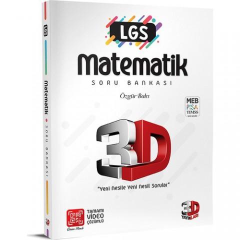 3D Yayınları 3D LGS Matematik Soru Bankası