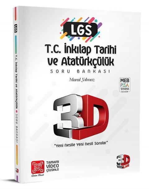 3D Yayınları 3D LGS Tc.inkılap Tarihi ve Atatürkçülük Soru Bankası