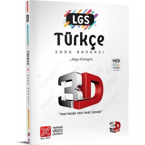 3D Yayınları LGS 3D Türkçe Soru Bankası