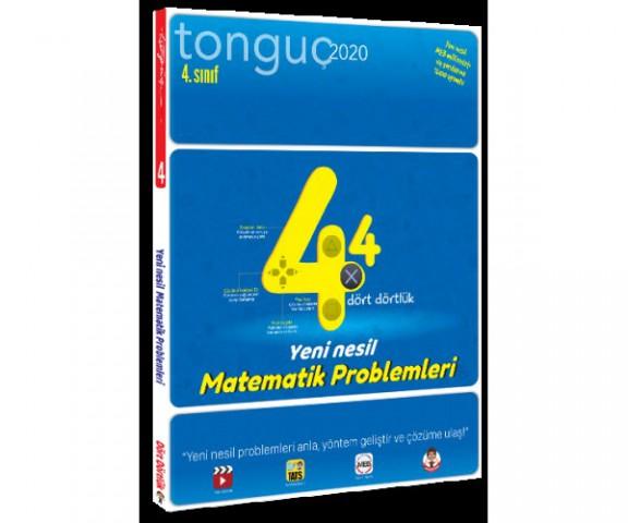 4. Sınıf Dört Dörtlük Matematik Problemleri ( Yeni Nesil ) Tonguç Akademi