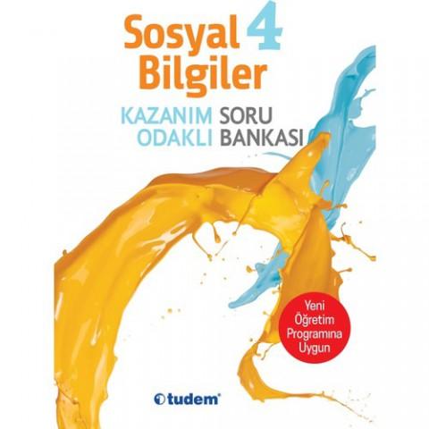 4 Sınıf Sosyal Bilgiler Kazanım Odaklı Soru Bankası Tudem Yay