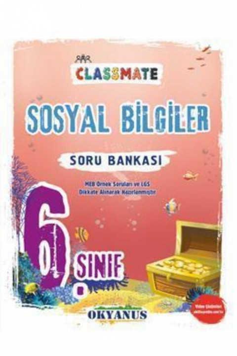6. Sınıf Classmate Sosyal Bilgiler Soru Bankası