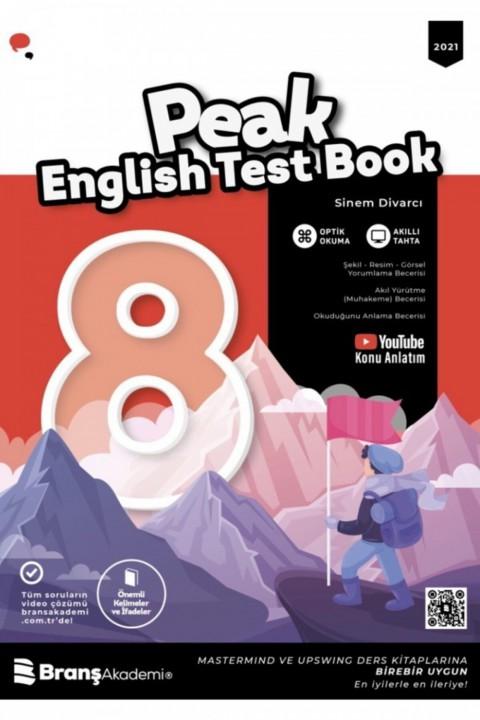8.sınıf Peak Englısh Test Book