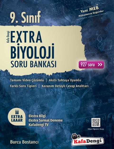 9. Sınıf Biyoloji Extra Soru Bankası Kafadengi Yayınları