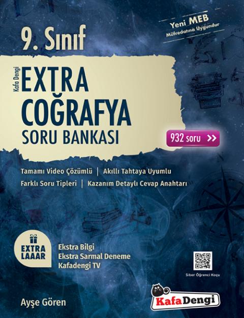 9. Sınıf Coğrafya Extra Soru Bankası Kafadengi Yayınları