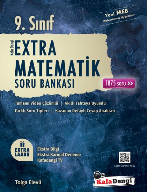 9. Sınıf Matematik Extra Soru Bankası Kafadengi Yayınları