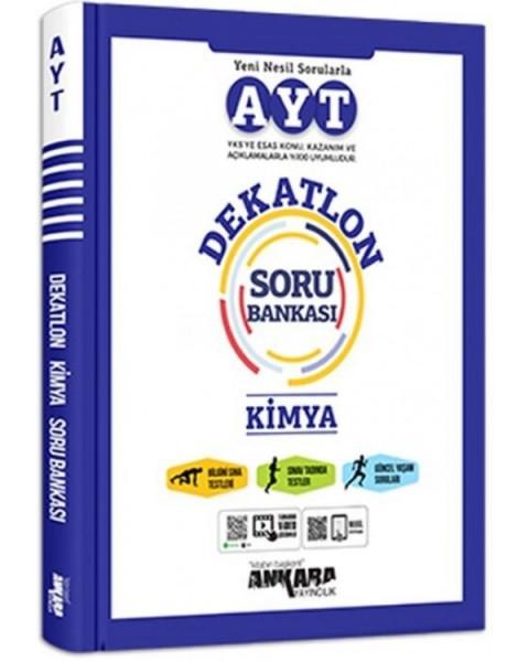 AYT Kimya Dekatlon Soru Bankası Ankara Yayıncılık