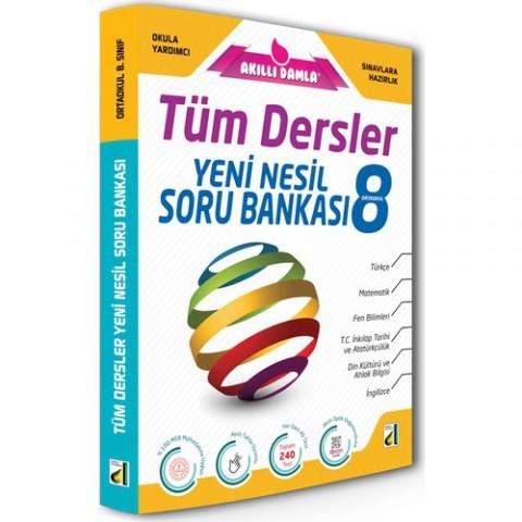 Akıllı Damla Tüm Dersler Yeni Nesil Soru Bankası 8. Sınıf