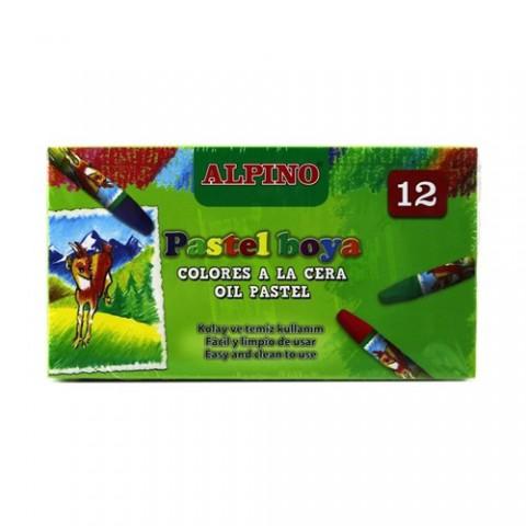 Alpino 12 Renk Pastel Boya Dc-008299