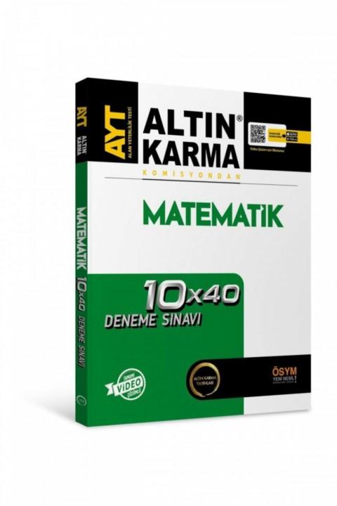Altın Karma 2020 Komisyondan Ayt Matematik Deneme