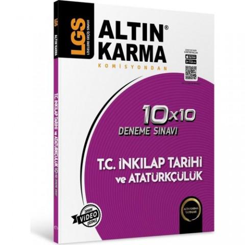 Altın Karma 8. Sınıf LGS Inkilap Tarihi ve Atatürkçülük Deneme