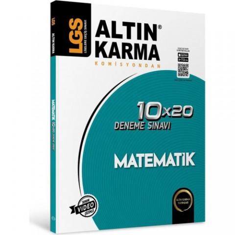 Altın Karma 8. Sınıf LGS Matematik Deneme