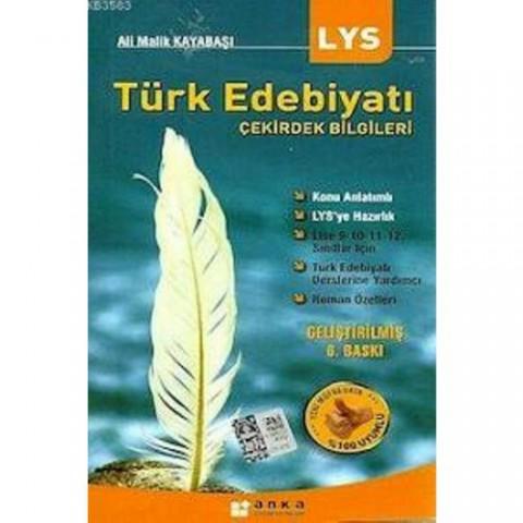 Anka Yayınları Lys Türk Edebiyatı Çekirdek Bilgileri