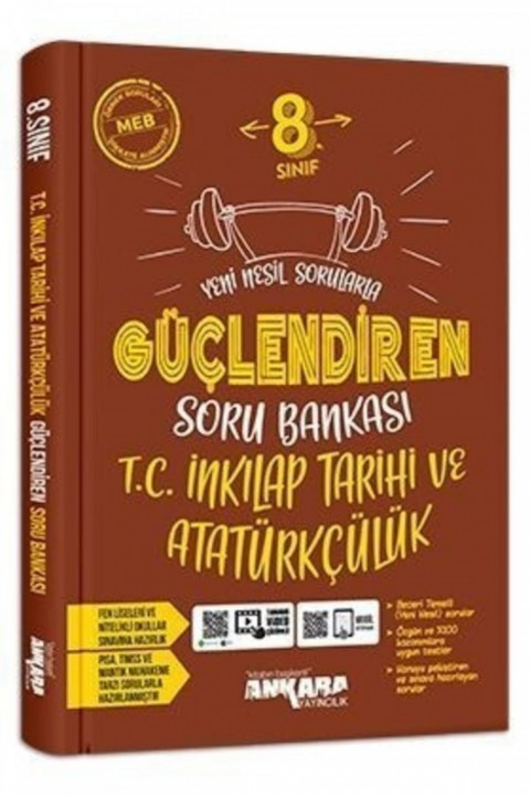 Ankara 8. Sınıf Güçlendiren T.c.inkılap Tarihi Ve Atatürkçülük