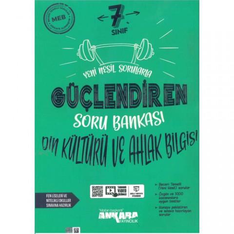 Ankara Yayıncılık 7. Sınıf Din Kültürü ve Ahlak Bilgisi Güçlendiren Soru Bankası