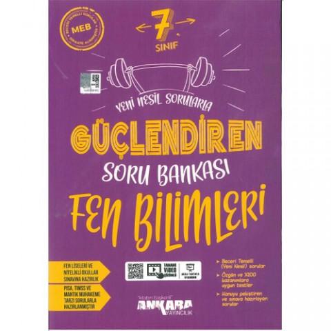 Ankara Yayıncılık 7. Sınıf Fen Bilimleri Güçlendiren Soru Bankası