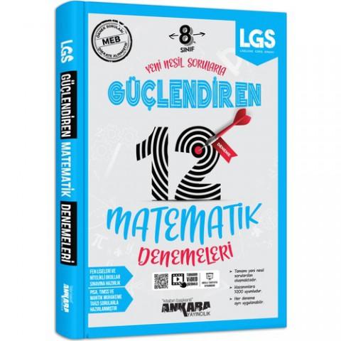 Ankara Yayıncılık 8. Sınıf Matematik 12 Güçlendiren Deneme