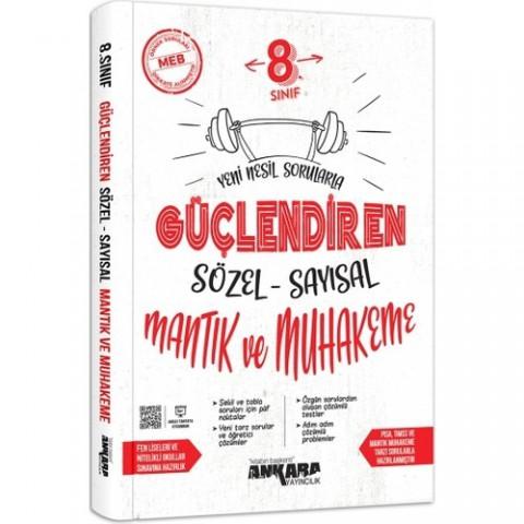 Ankara Yayıncılık 8.sınıf Sayısal Sözel Muhakeme Güçlendiren Soru Bankası