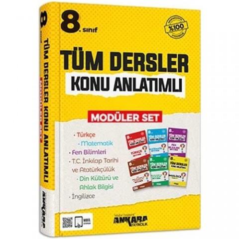 Ankara Yayıncılık 8.sınıf Tüm Dersler Konu Anlatımlı Modüler Set