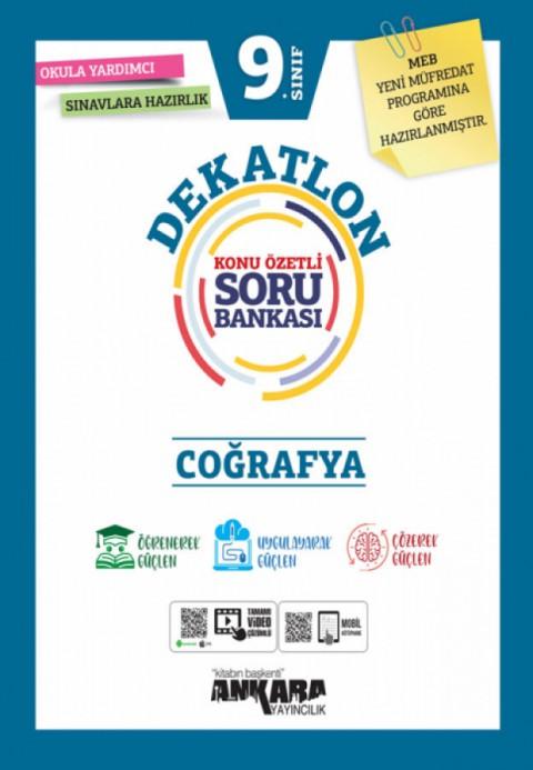 Ankara Yayıncılık 9. Sınıf Dekatlon Coğrafya Soru Bankası