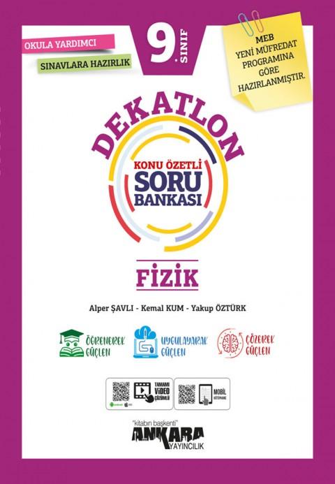 Ankara Yayıncılık 9. Sınıf Dekatlon Fizik Soru Bankası