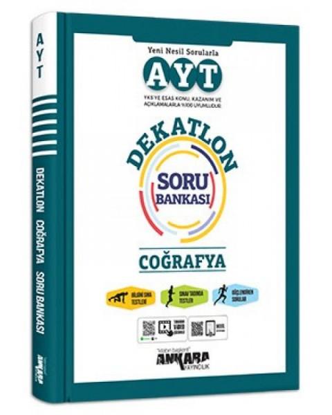 Ankara Yayıncılık AYT Coğrafya Dekatlon Soru Bankası