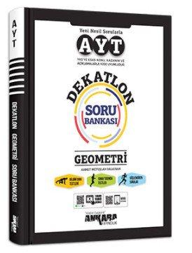 Ankara Yayıncılık AYT Dekatlon Geometri Soru Bankası