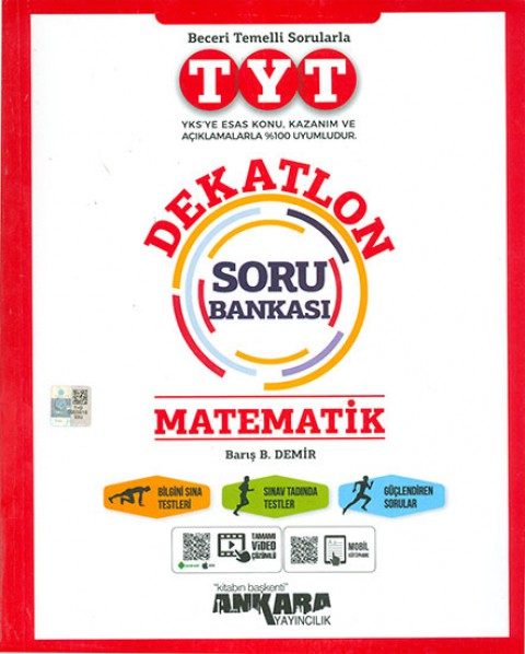 Ankara Yayıncılık TYT Dekatlon Matematik Soru Bankası