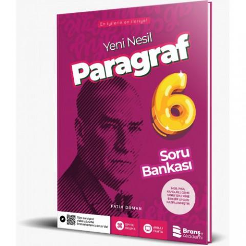 BRANŞ AKADEMİ 6.sınıf Paragraf Soru Bankası