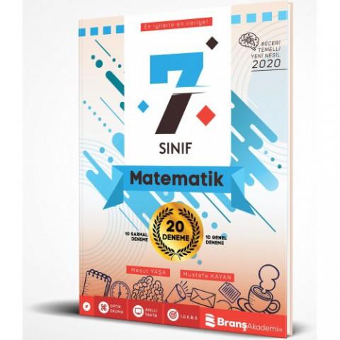 BRANŞ AKADEMİ 7. Sınıf Matematik 20 Deneme
