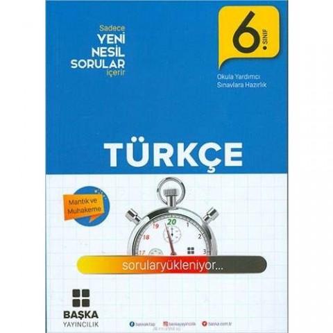 Başka Yayıncılık 6.Sınıf Türkçe Yeni Nesil Soru Kitabı