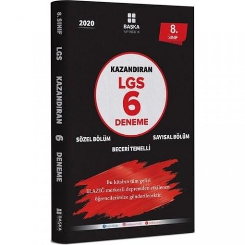 Başka Yayınları 2020 Lgs 8.sınıf Kazandıran 6 Deneme