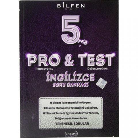Bilfen 5. Sınıf Pro & Test Ingilizce Soru Bankası