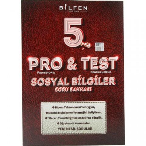 Bilfen 5. Sınıf Pro & Test Sosyal Bilgiler Soru Bankası