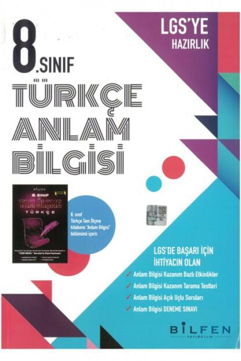 Bilfen 8. Sınıf Türkçe Anlam Bilgisi Etkinlikli Soru Bankası