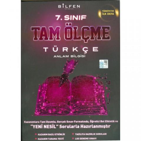 Bilfen Yayıncılık 7. Sınıf Türkçe Tam Ölçme Yeni