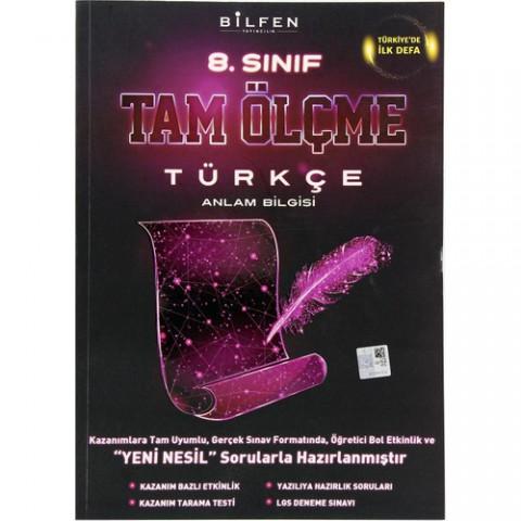 Bilfen Yayıncılık 8. Sınıf Türkçe Tam Ölçme Yeni