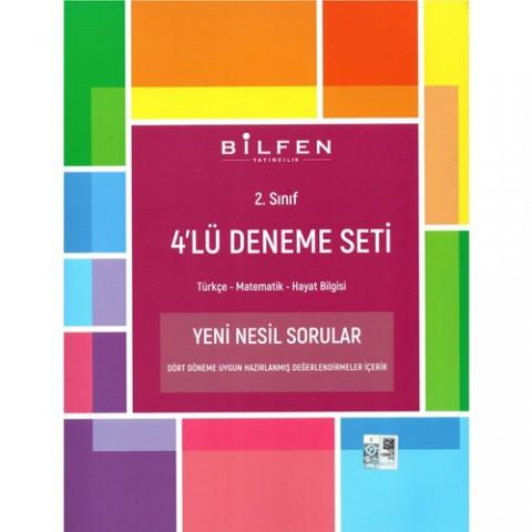 Bilfen Yayınları 2. Sınıf 4'lü Deneme Seti