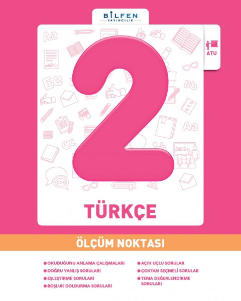 Bilfen Yayınları 2. Sınıf Türkçe Ölçüm Noktası 2020