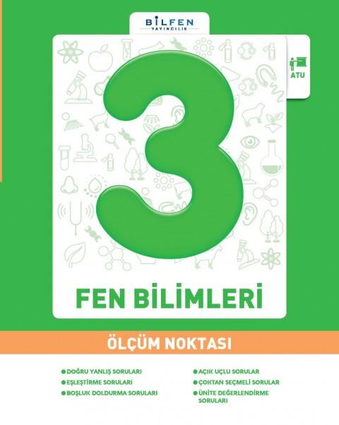Bilfen Yayınları 3. Sınıf Fen Bilimleri Ölçüm Noktası