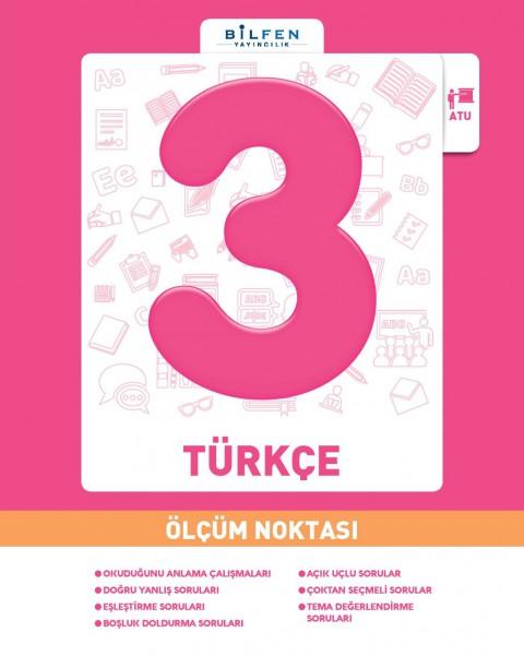 Bilfen Yayınları 3.sınıf Türkçe Ölçüm Noktası