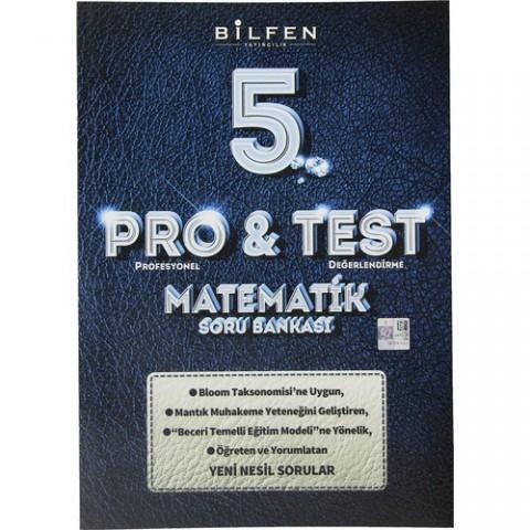 Bilfen Yayınları 5. Sınıf Pro & Test Matematik Soru Bankası