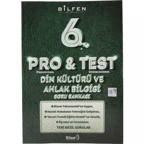 Bilfen Yayınları 6. Sınıf Pro & Test Din Kültürü ve Ahlak Bilgisi Soru Bankası