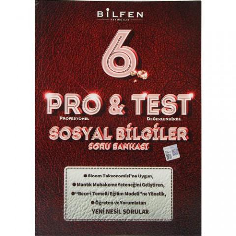 Bilfen Yayınları 6. Sınıf Pro & Test Sosyal Bilgiler Soru Bankası