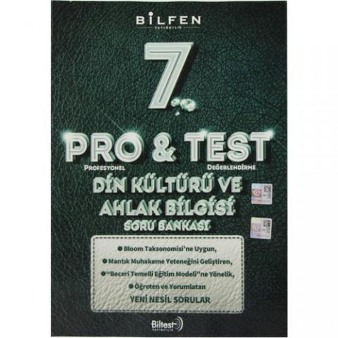 Bilfen Yayınları 7. Sınıf Pro & Test Din Kültürü Ve Ahlak Bilgisi Soru Bankası